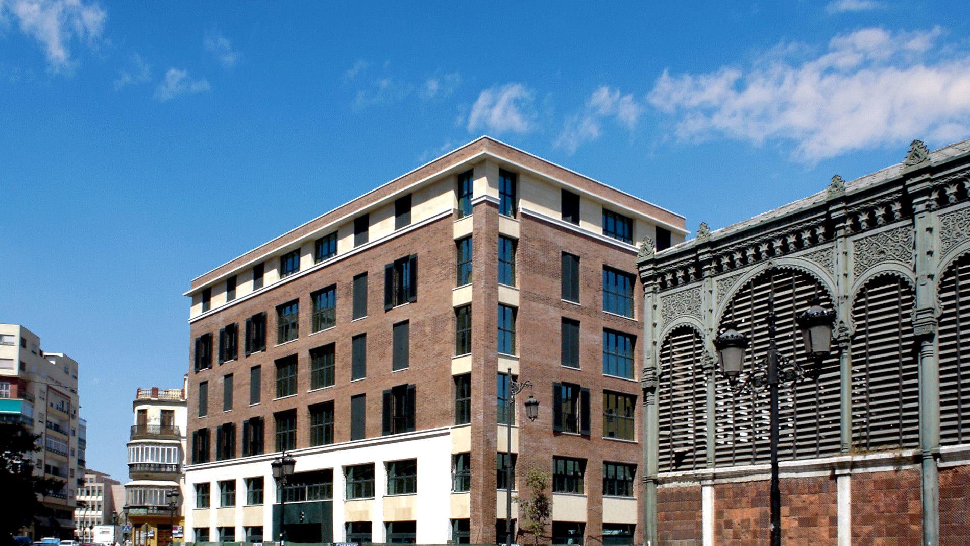 Edificio Atarazanas Malaga