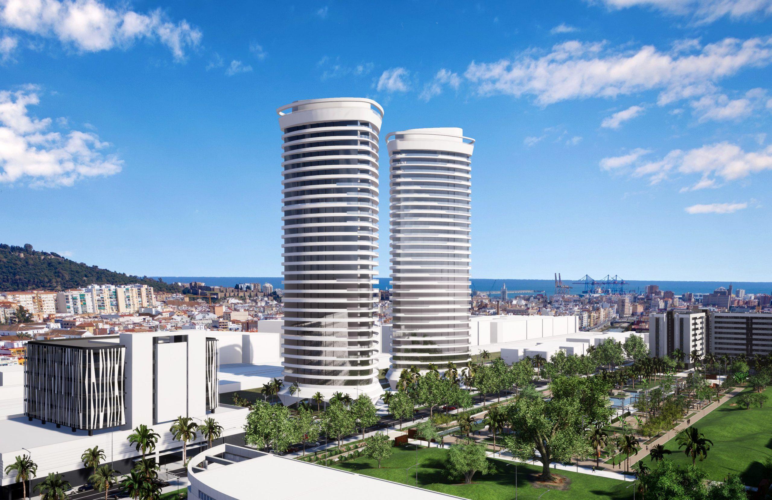 Anteproyecto de 450 viviendas en Torres Martiricos Malaga