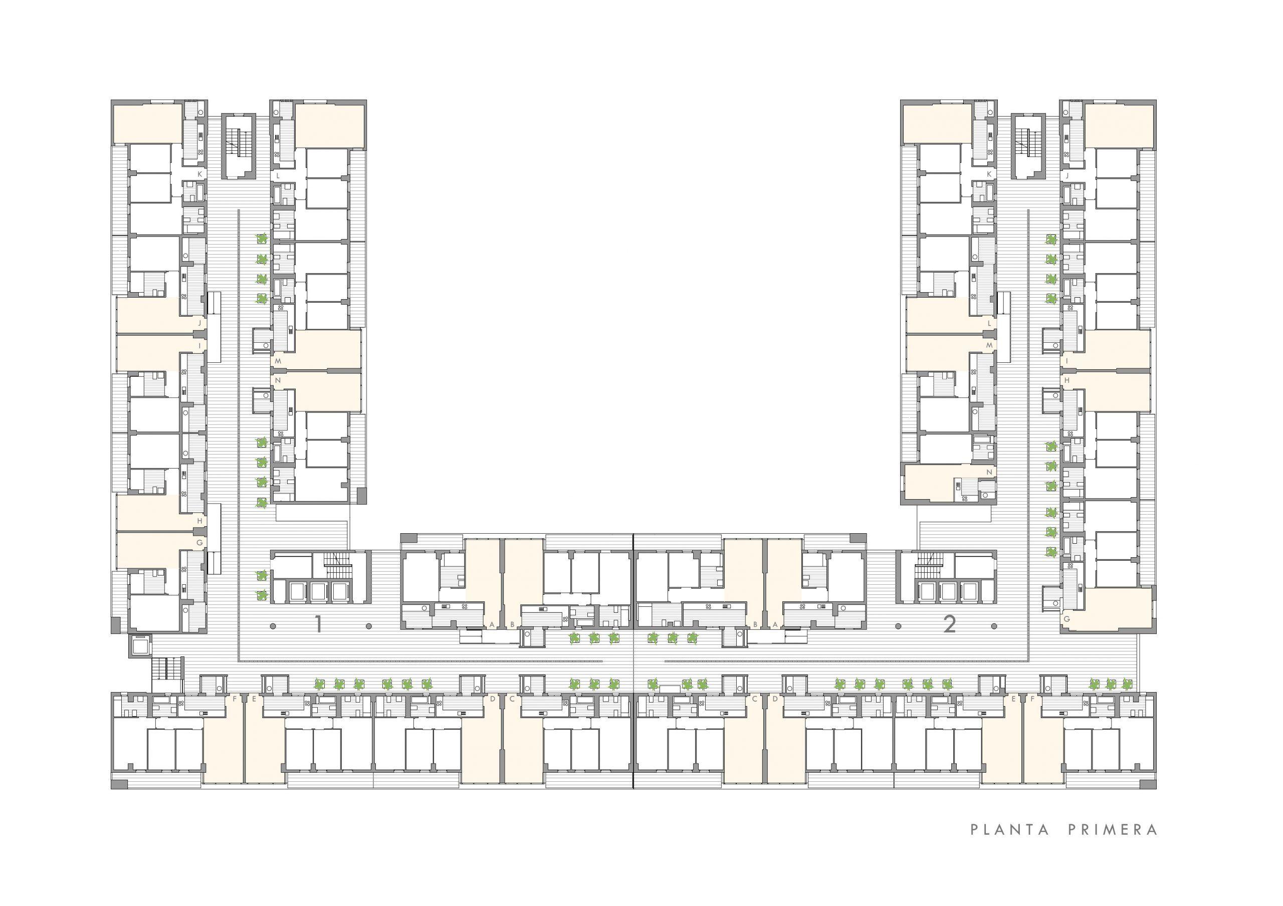 Edificio de viviendas protegidas Parque Martiricos en Malaga